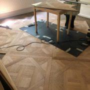 Restauration d'un parquet Versailles